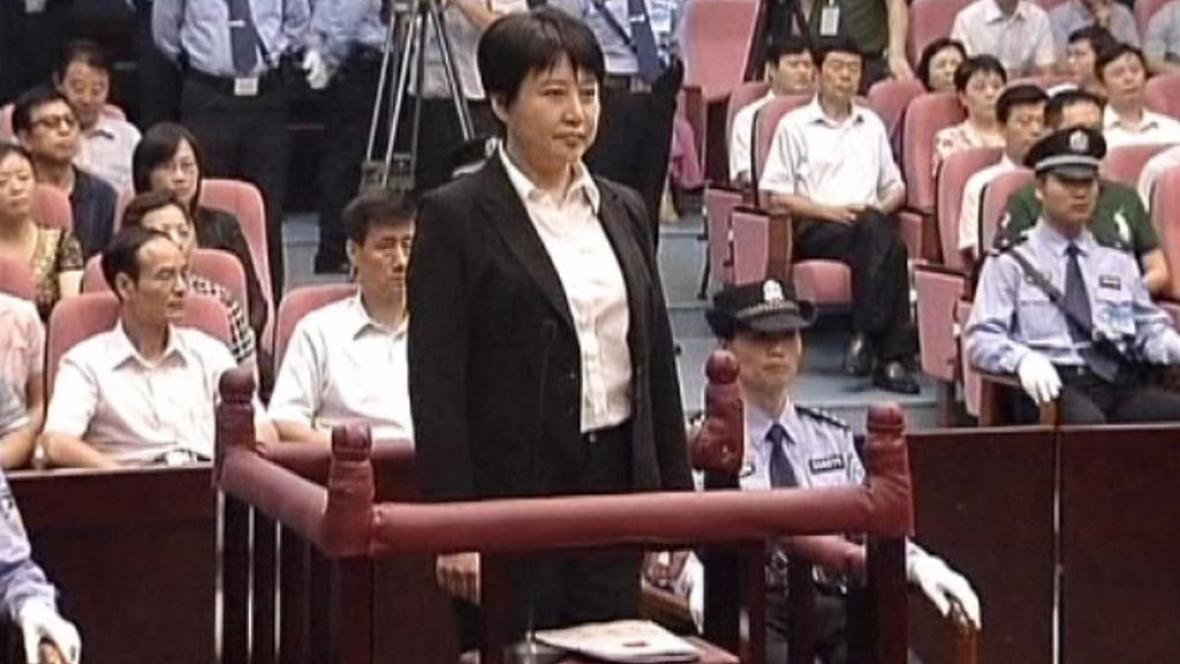 Ku Kchaj-laj před soudem