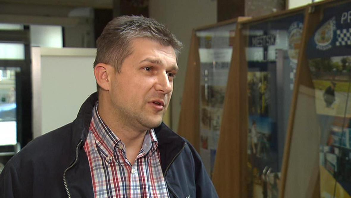 Náměstek pražské městské policie Ludvík Klema
