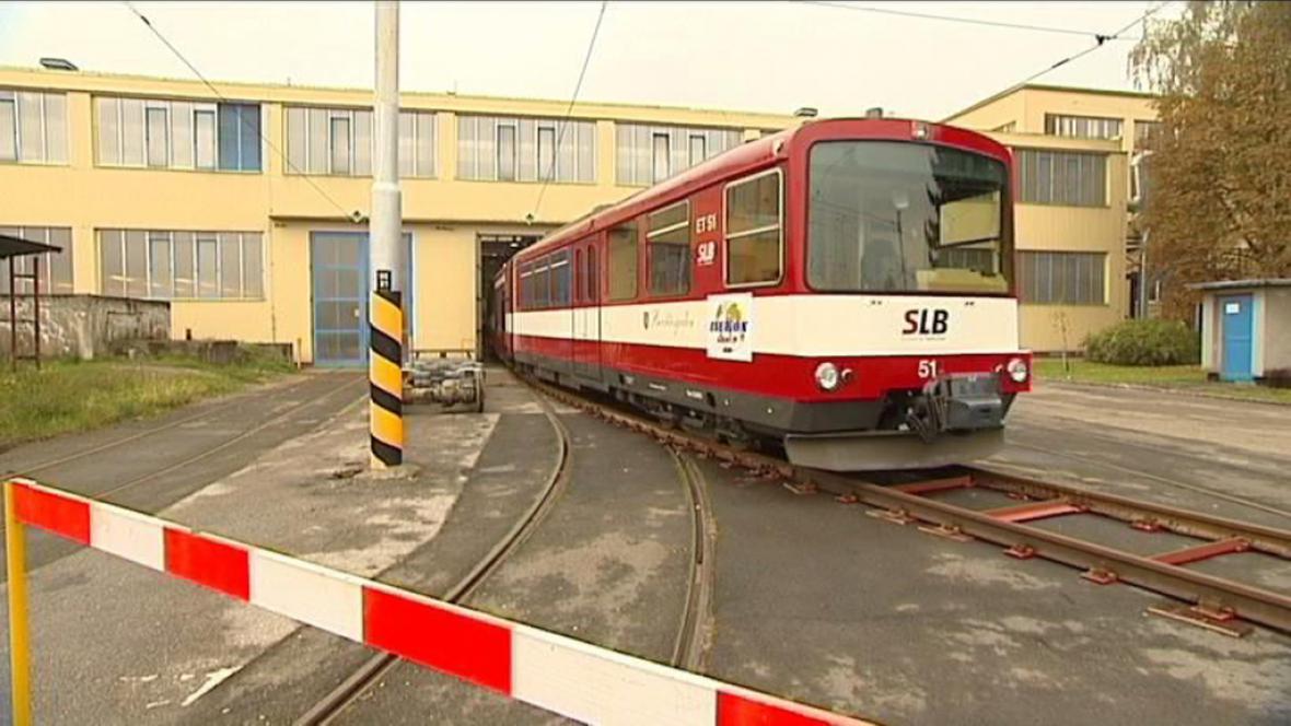 Vlak vyrobený v Ostravě
