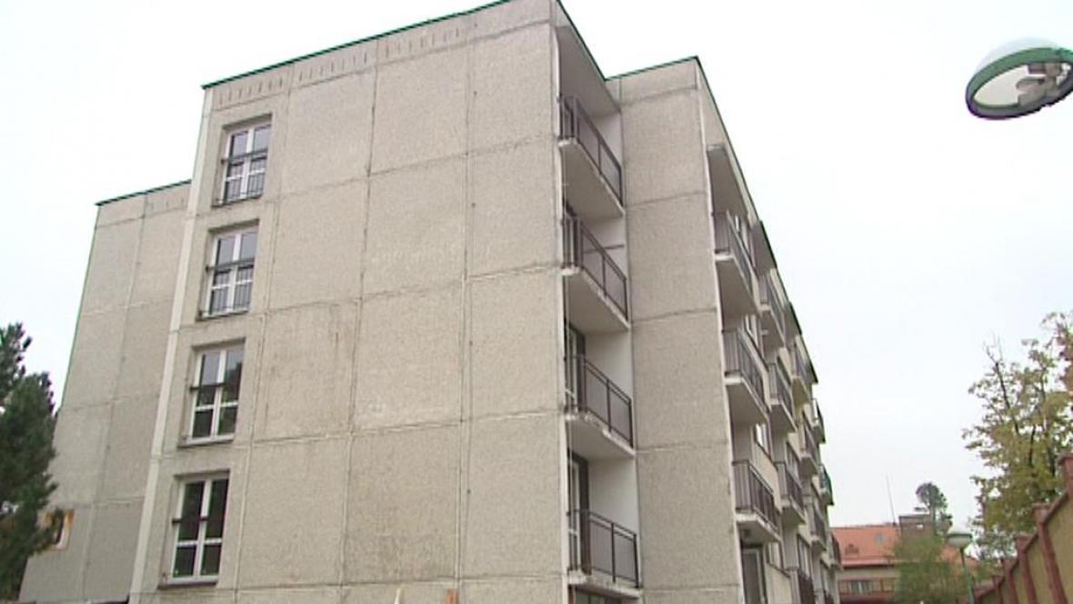Objekt městské ubytovny v Hradci Králové