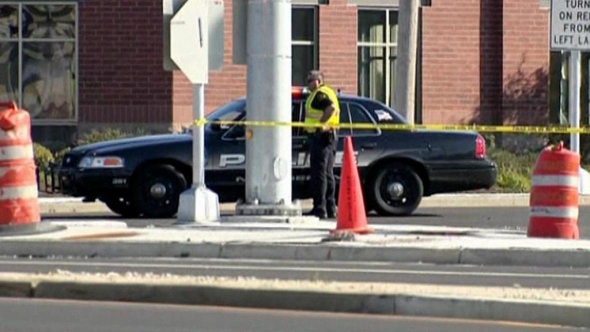 Místo přestřelky - Brookfield na předměstí Milwaukee