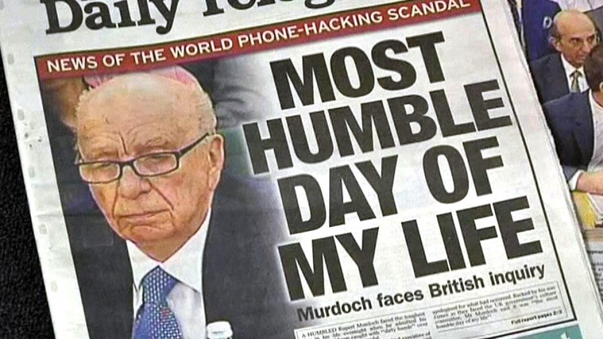 Murdochova aféra s odposlechy