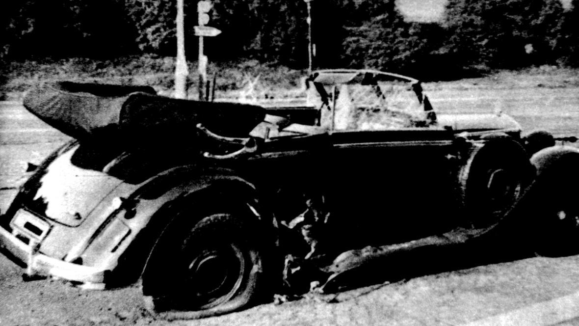 Atentát - Auto Reinharda Heydricha