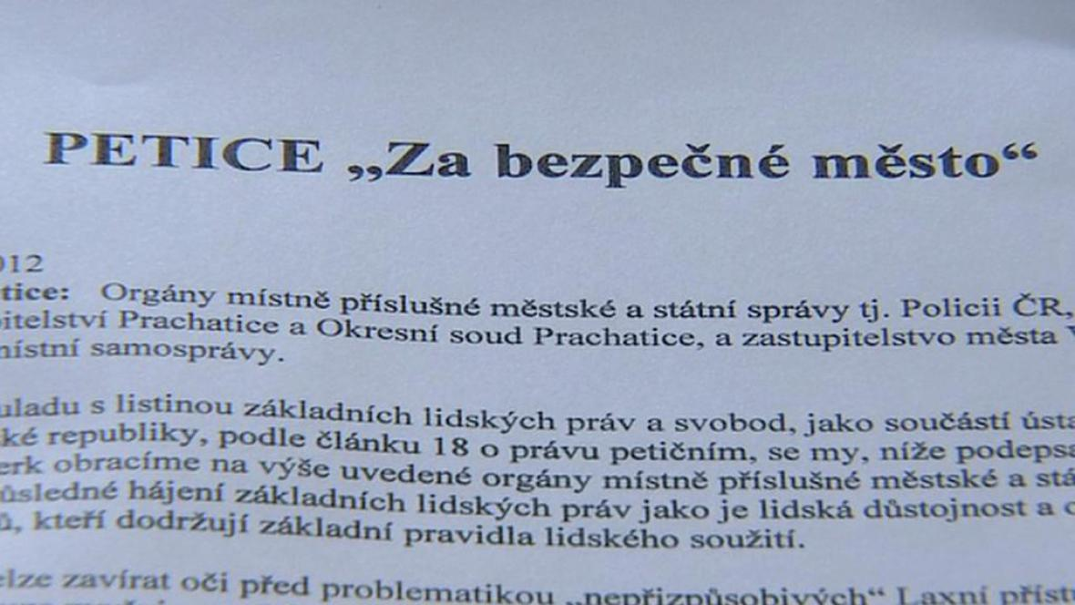 Petice Vimperčanů chce zamezit dalším konfliktům