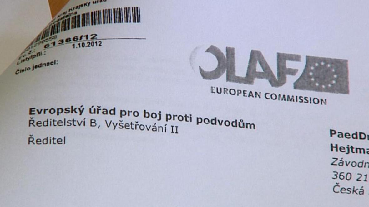 Zpráva Evropského úřadu boje proti podvodům