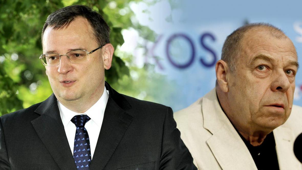 Petr Nečas a Jaroslav Zavadil