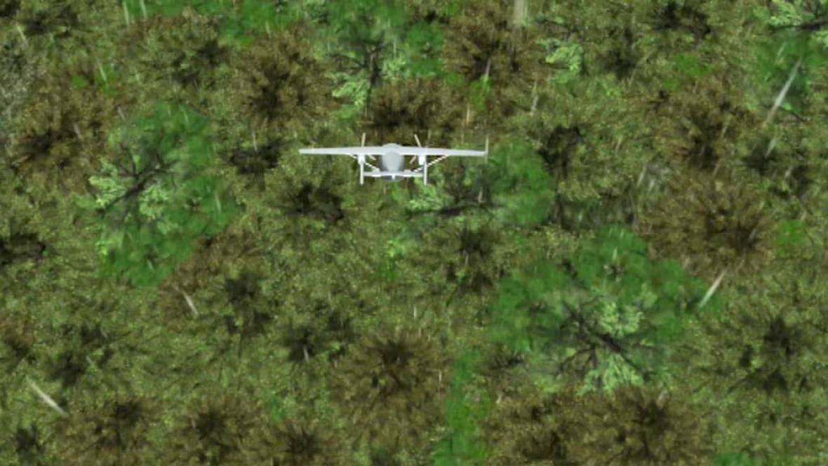 Simulace pádu letadla na Kamčatce