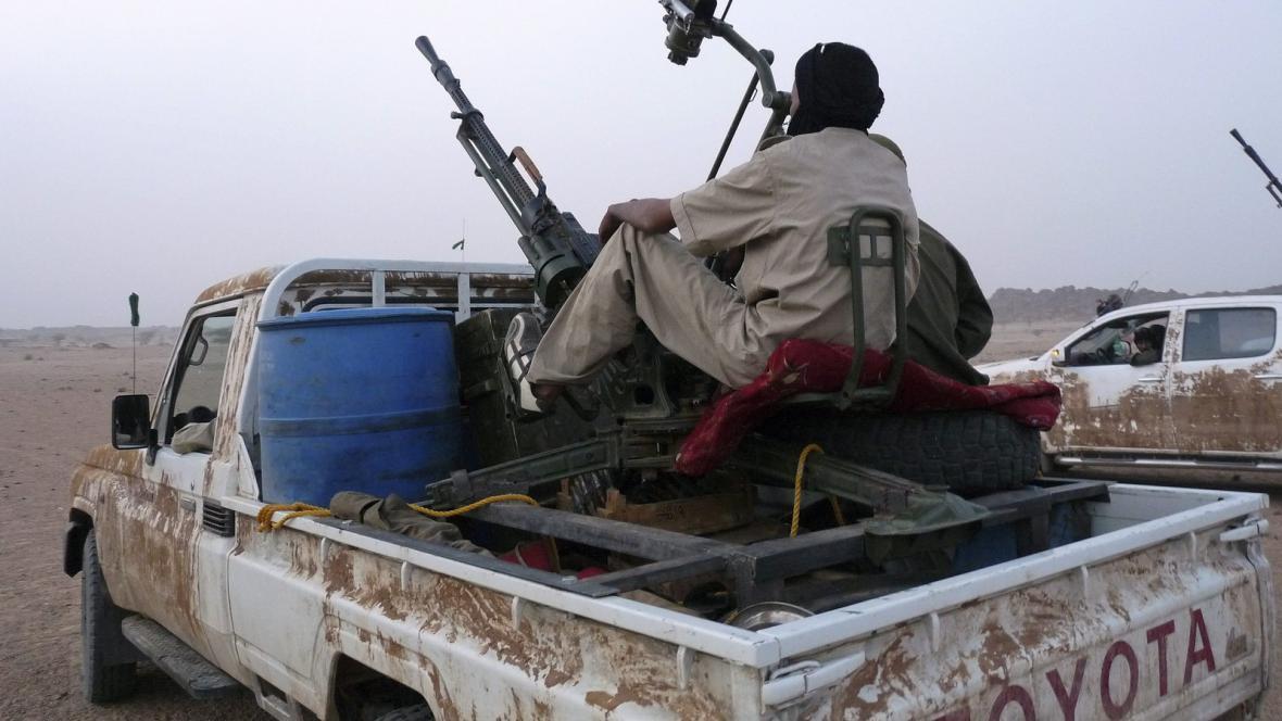 Tuaregové na severu Mali