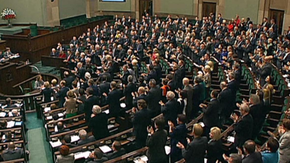 Sejm vyslovil důvěru Tuskově vládě
