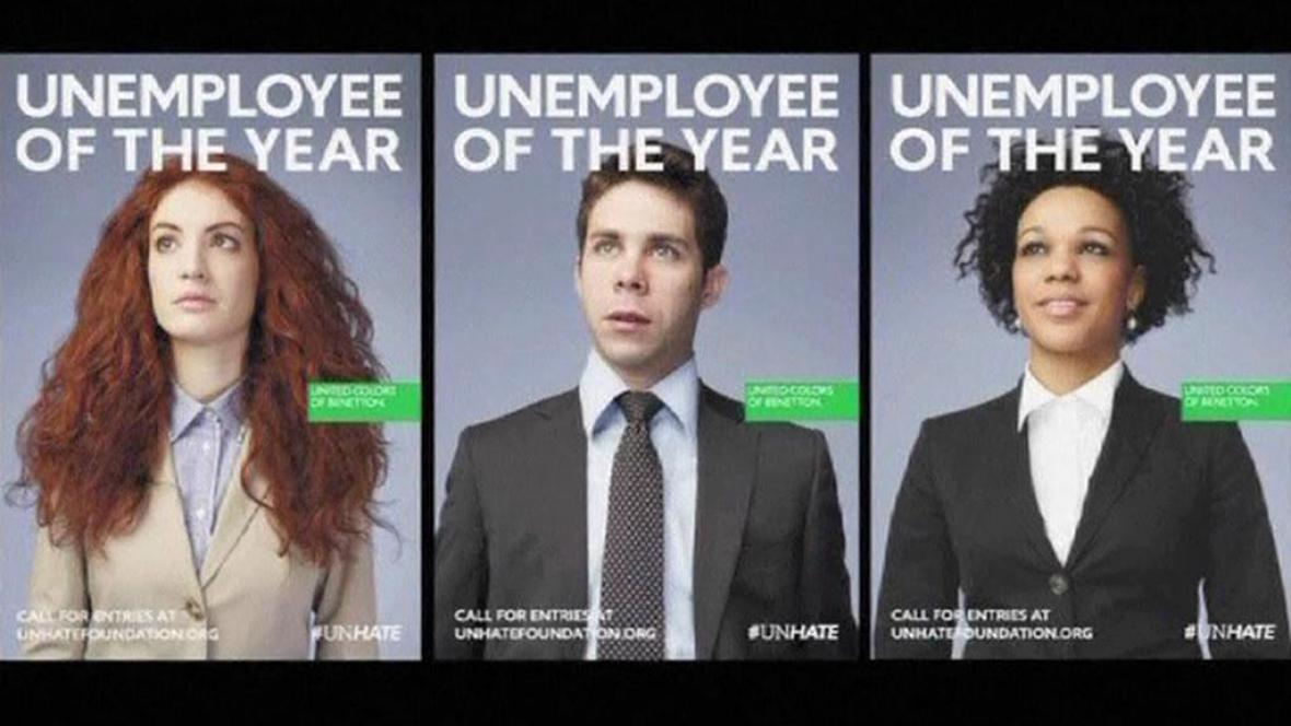 Nezaměstnanost v reklamě
