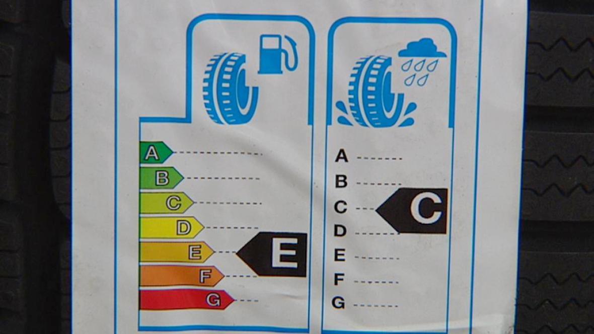 Štítek pro pneumatiky
