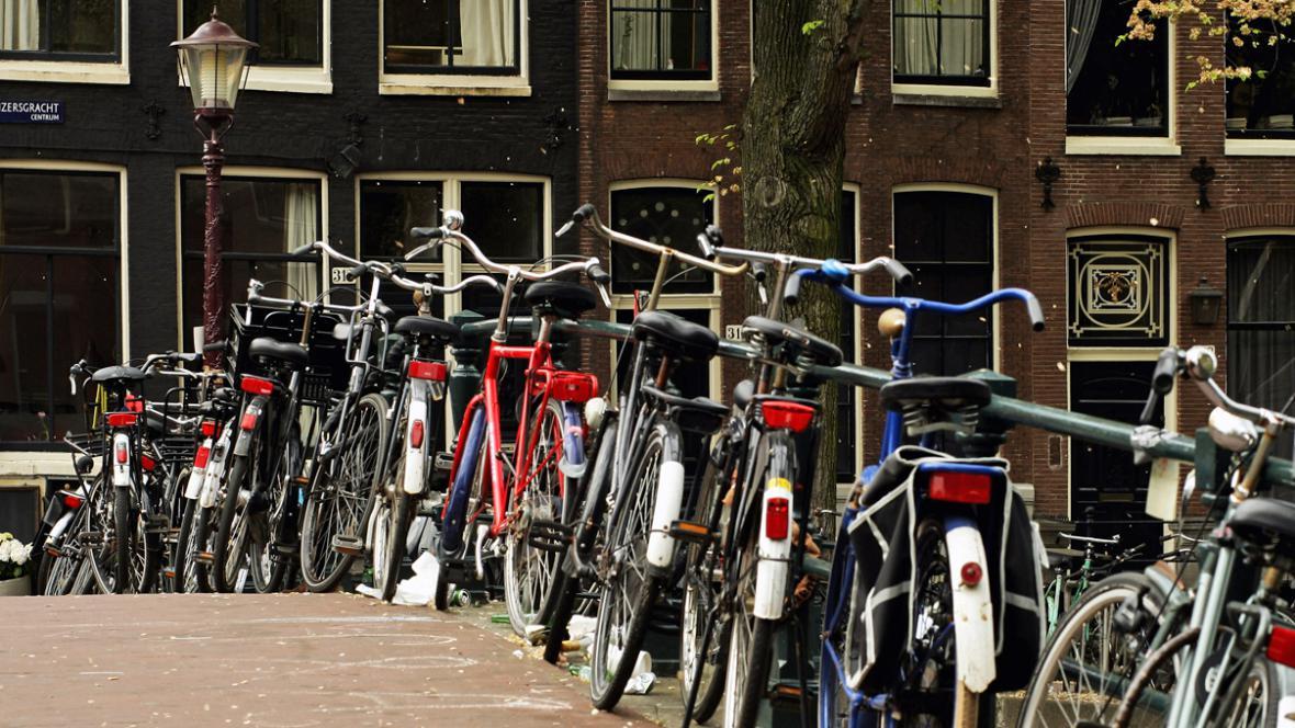 Nizozemsko je země cyklistům zaslíbená