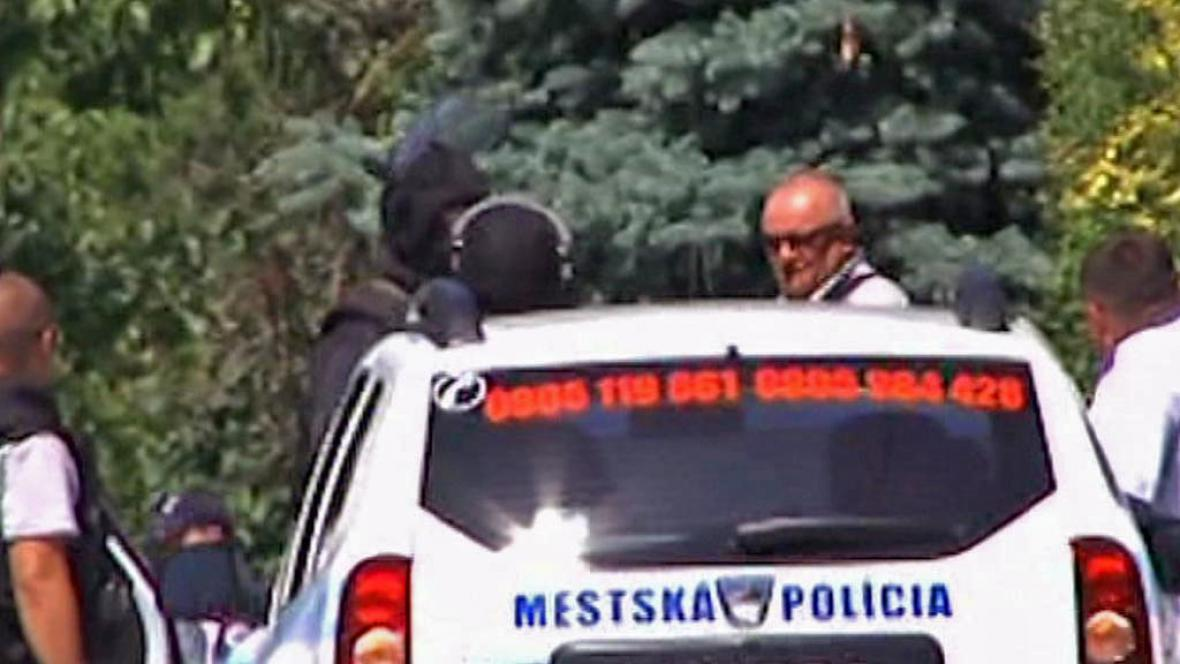 Policejní zásah v Hurbanovu