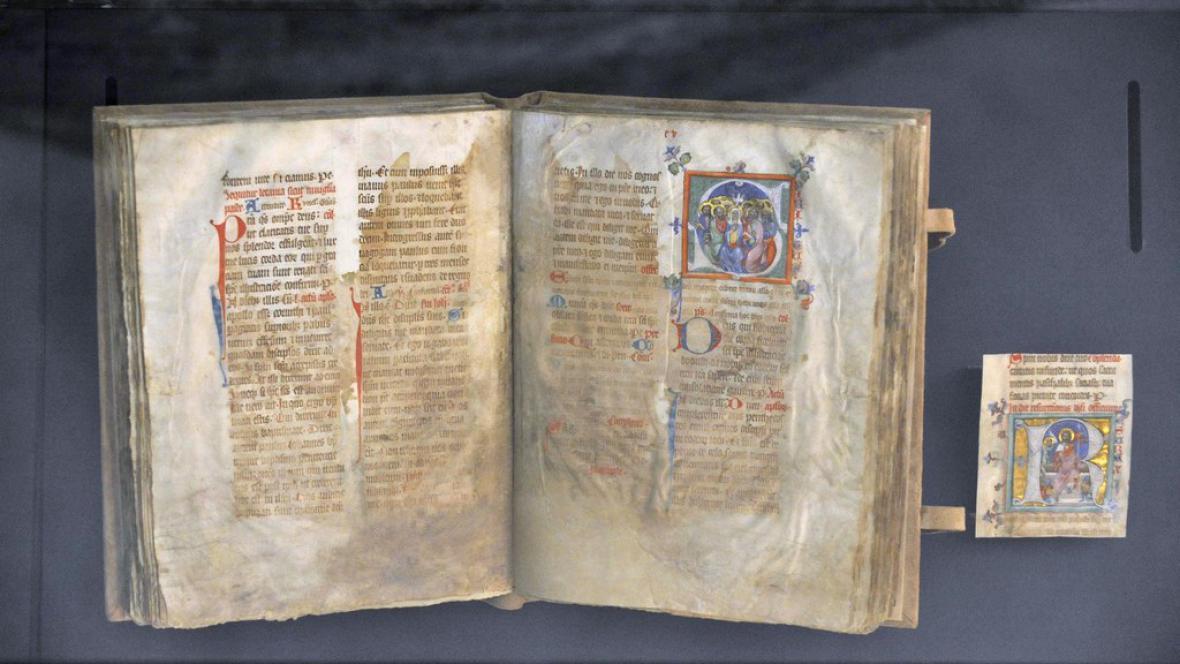 Opatovický misál ze 14. století