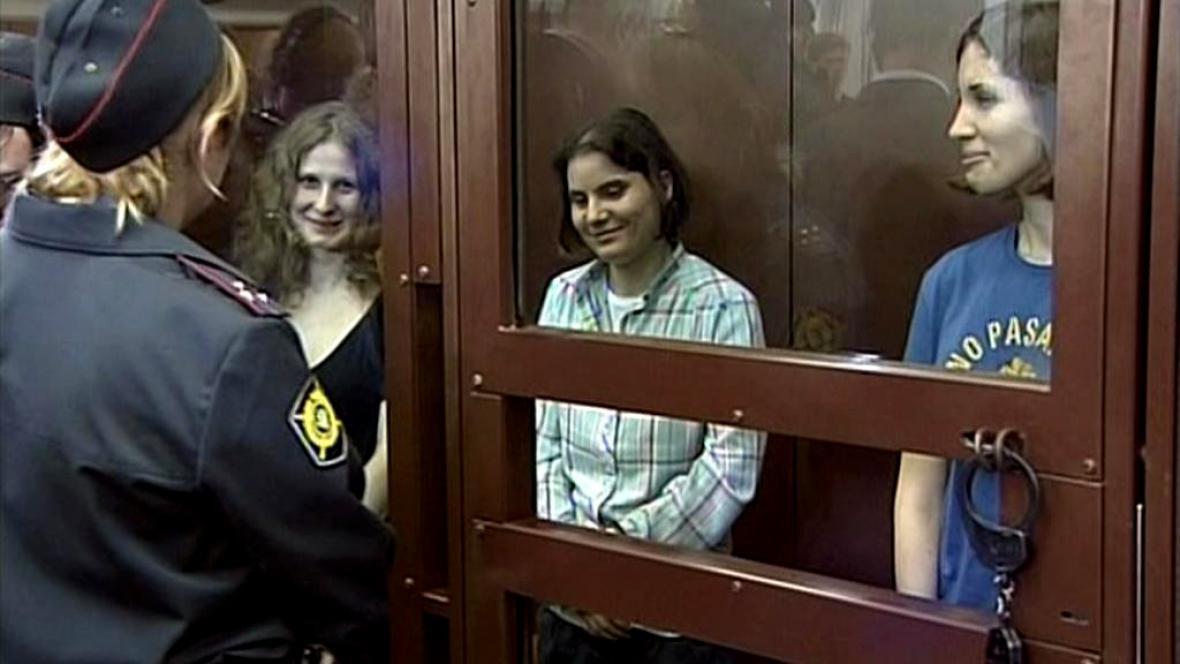 Pussy Riot u soudu