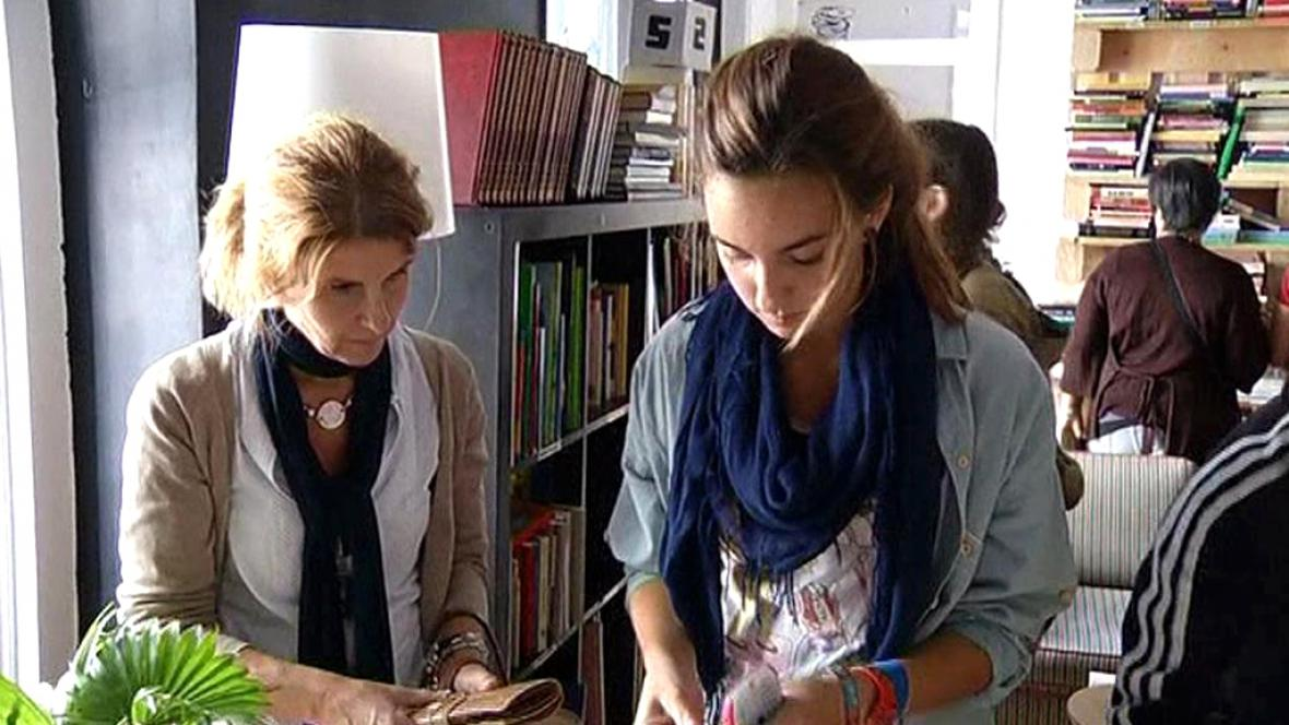 Knihkupectví v Madridu