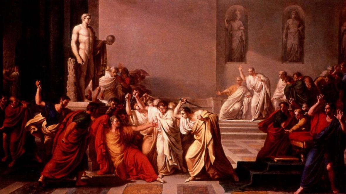 Smrt Caesara, Vincenzo Camuccini