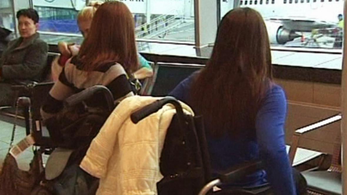 Ruské vozíčkáře do letadla Air Berlin nepustili