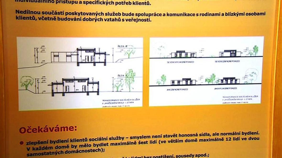 Stavba chráněného bydlení