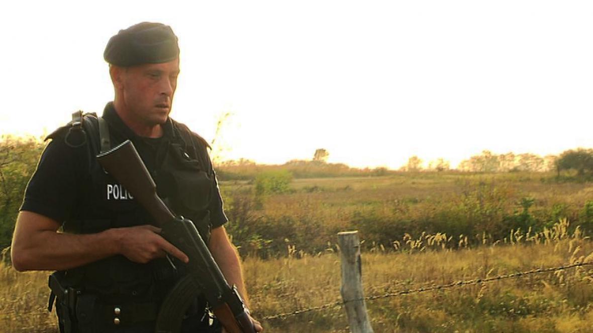 Kontroly na hranicích mezi Srbskem a Kosovem