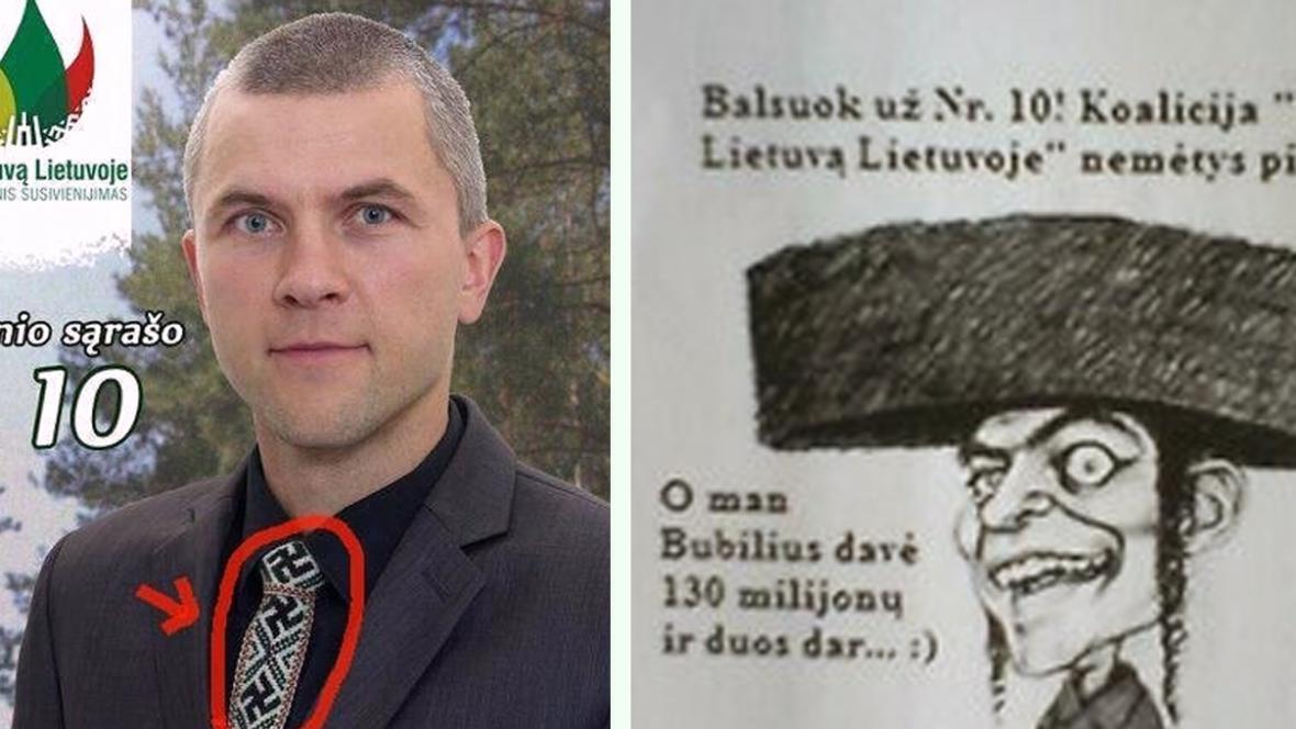 Předvolební kampaň Mariuse Galinise a Juliuse Panky