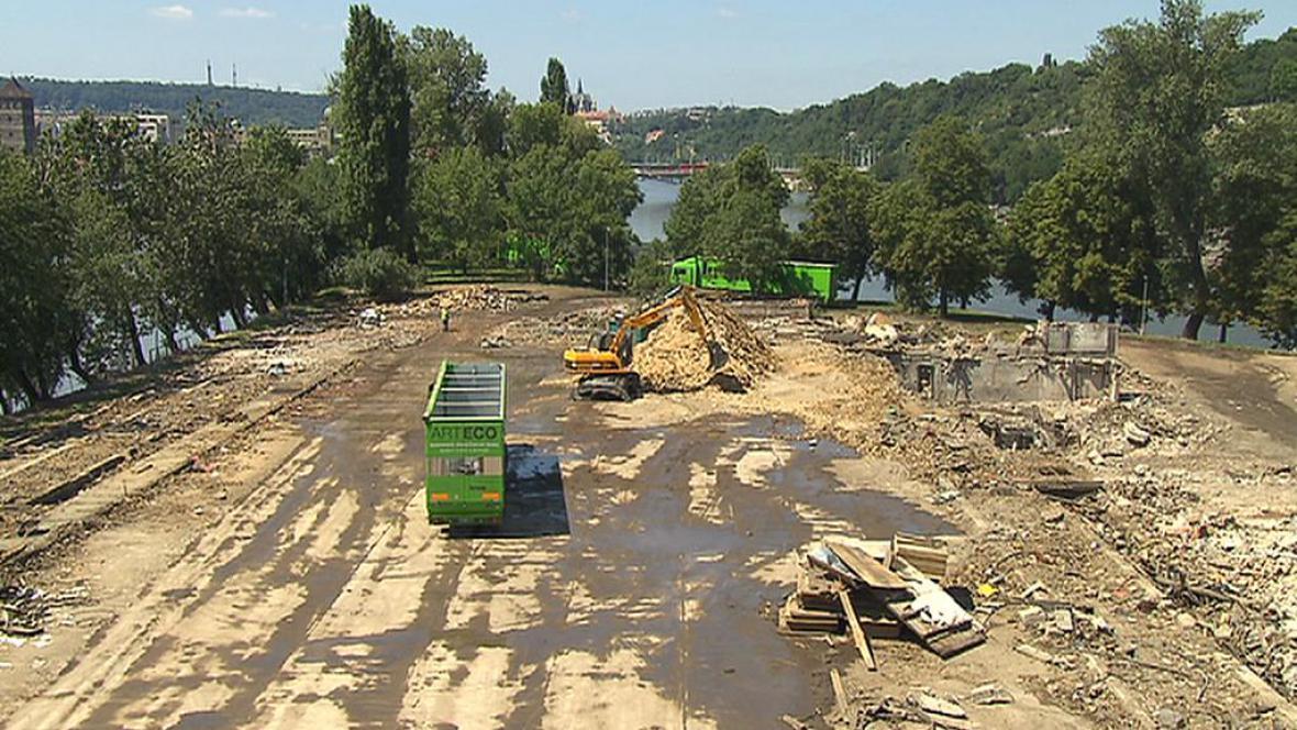 Štvanice po demolici