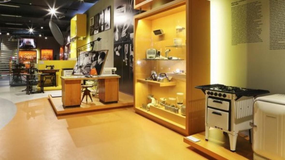 Stálá expozice Technika v domácnosti v NTM
