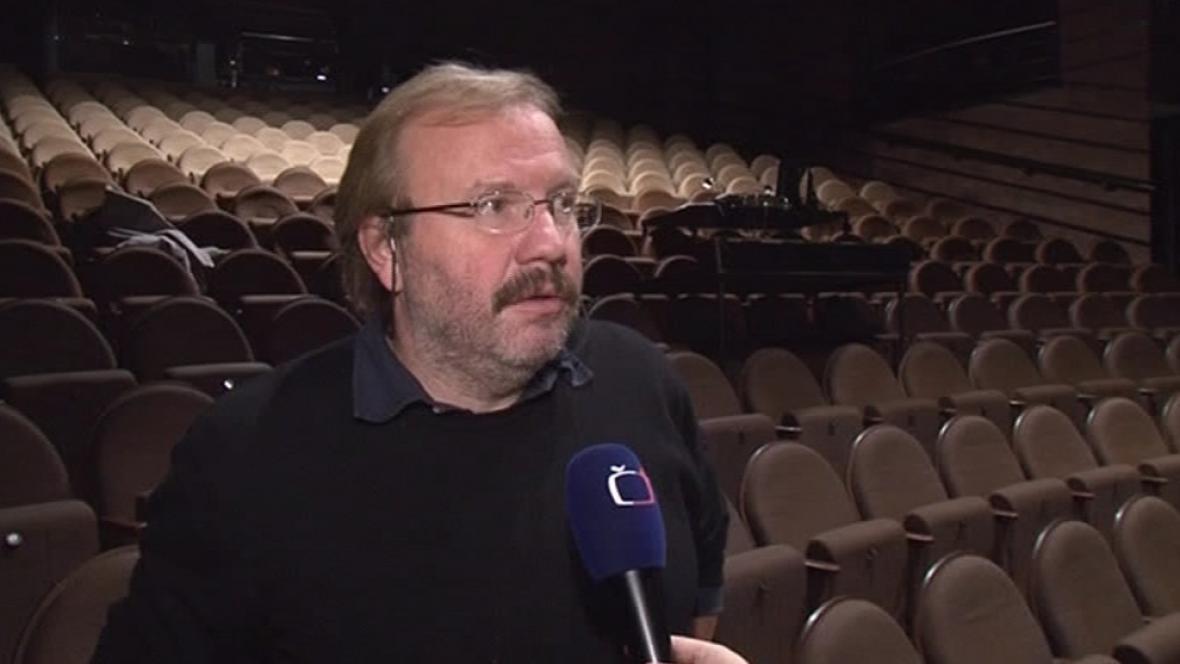 Ředitel Městského divadla Brno Stanislav Moša