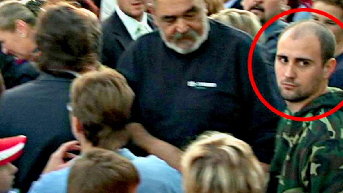 Muž, který vystřelil na Václava Klause
