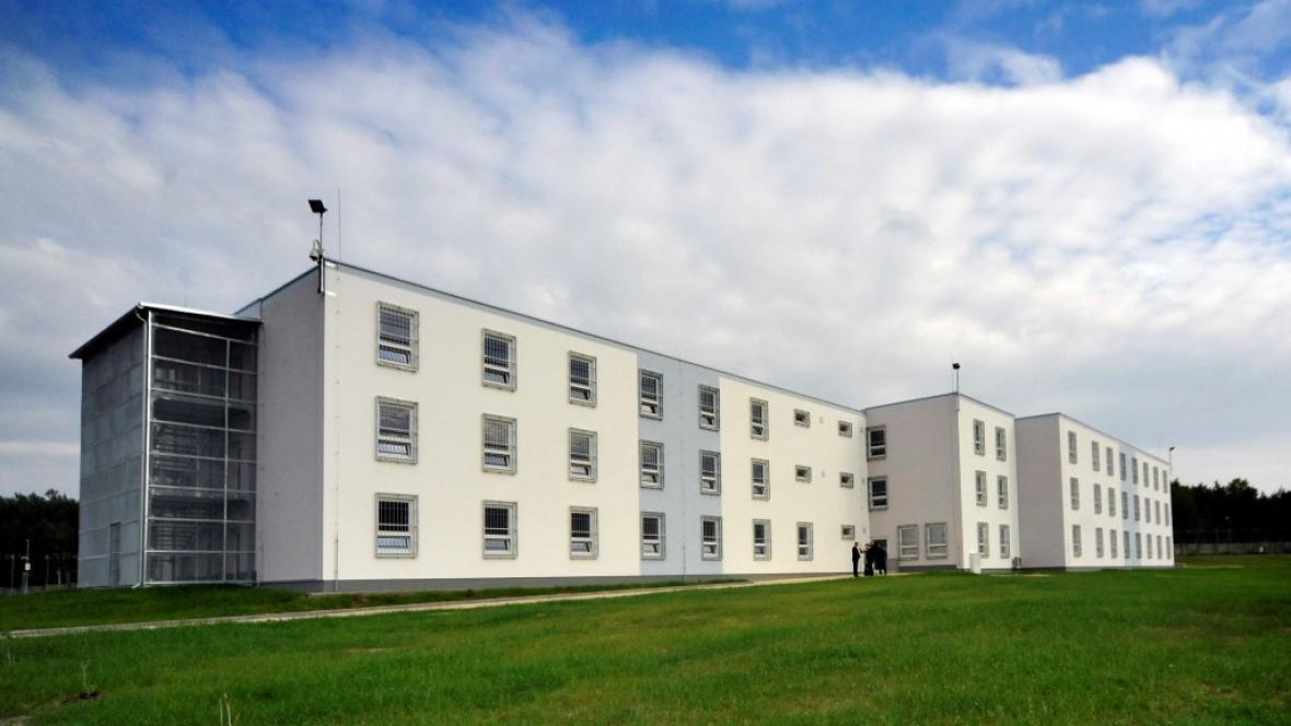 Nová ubytovna věznice v Rapoticích