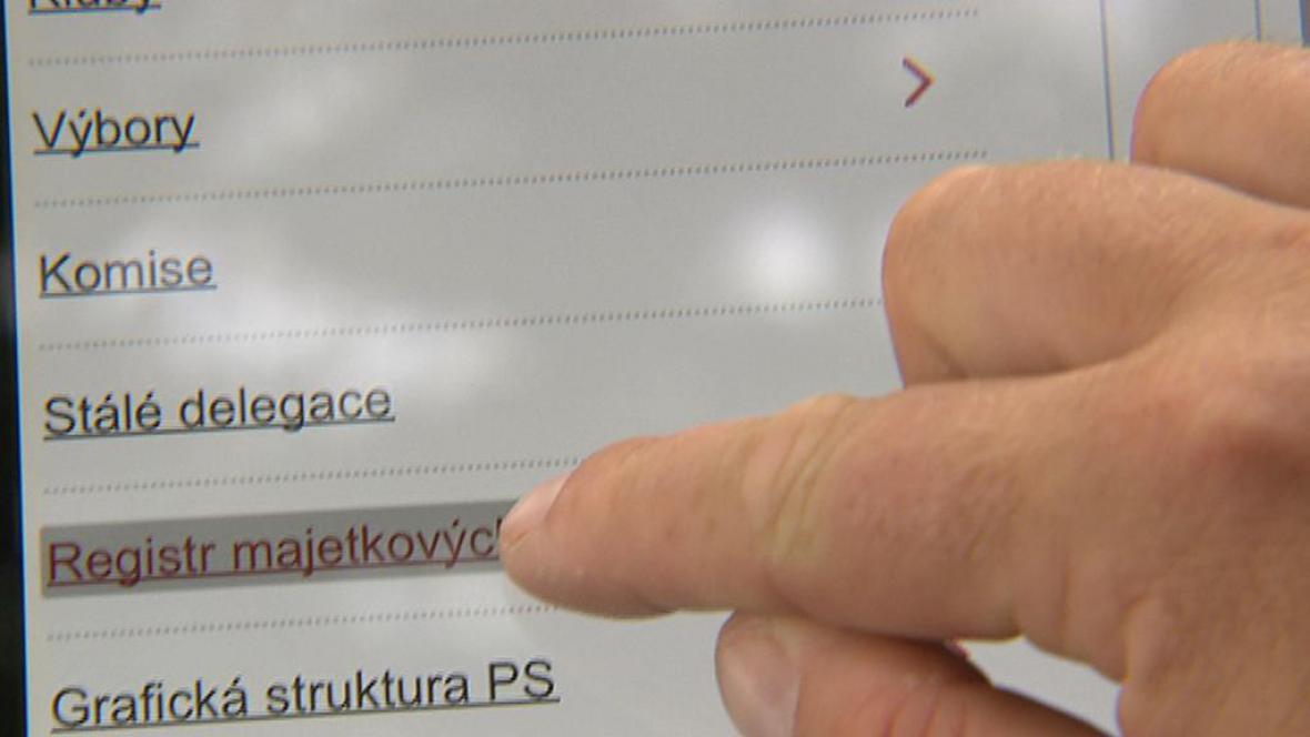 Majetkový registr