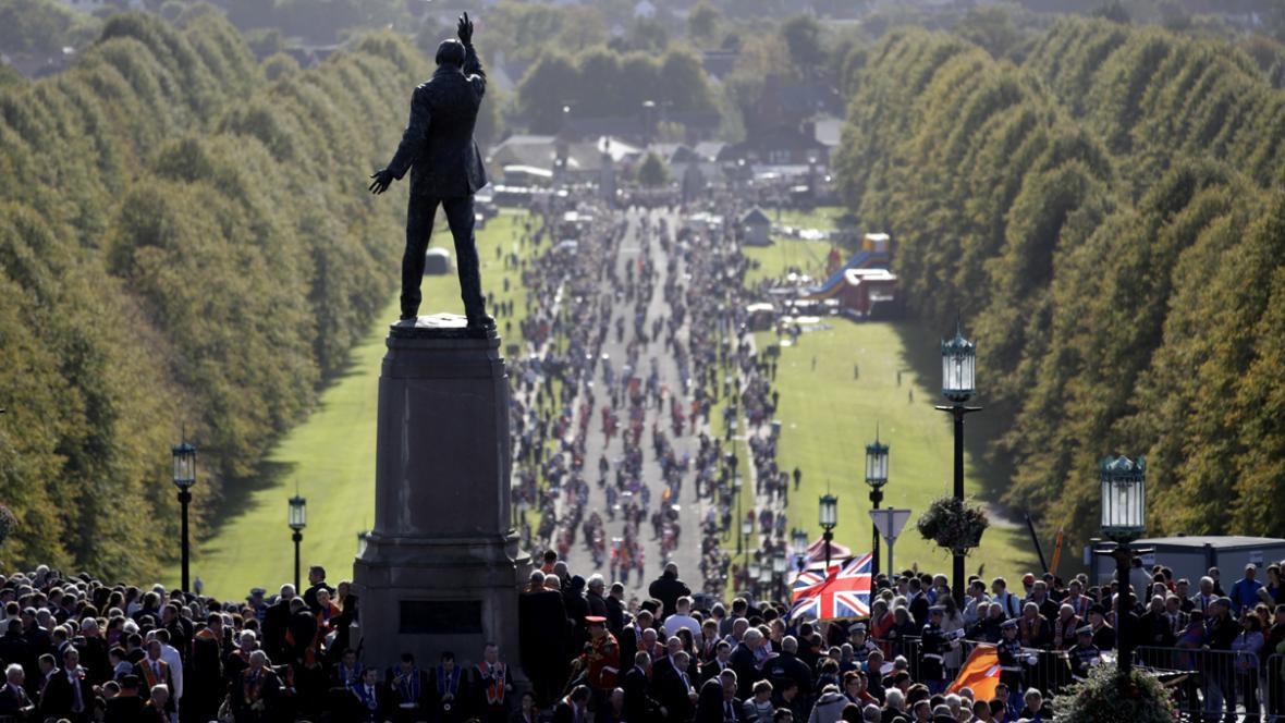 Pochod severoirských unionistů