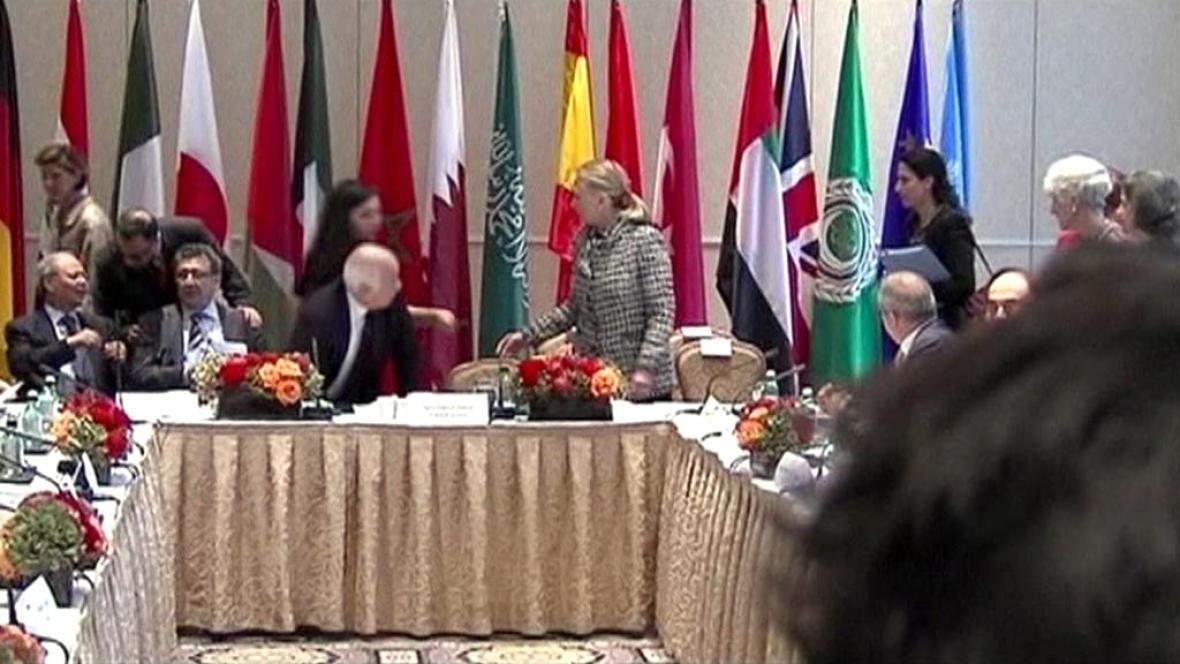 Jednání skupiny Přátel Sýrie
