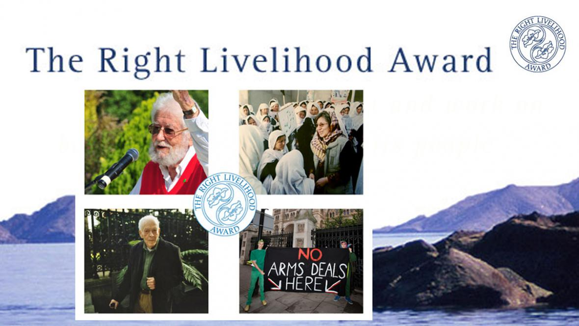 Laureáti alternativních Nobelových cen 2012