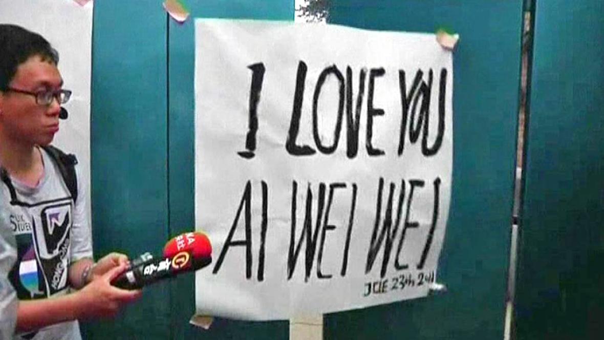 Aj Wej-wejovi příznivci