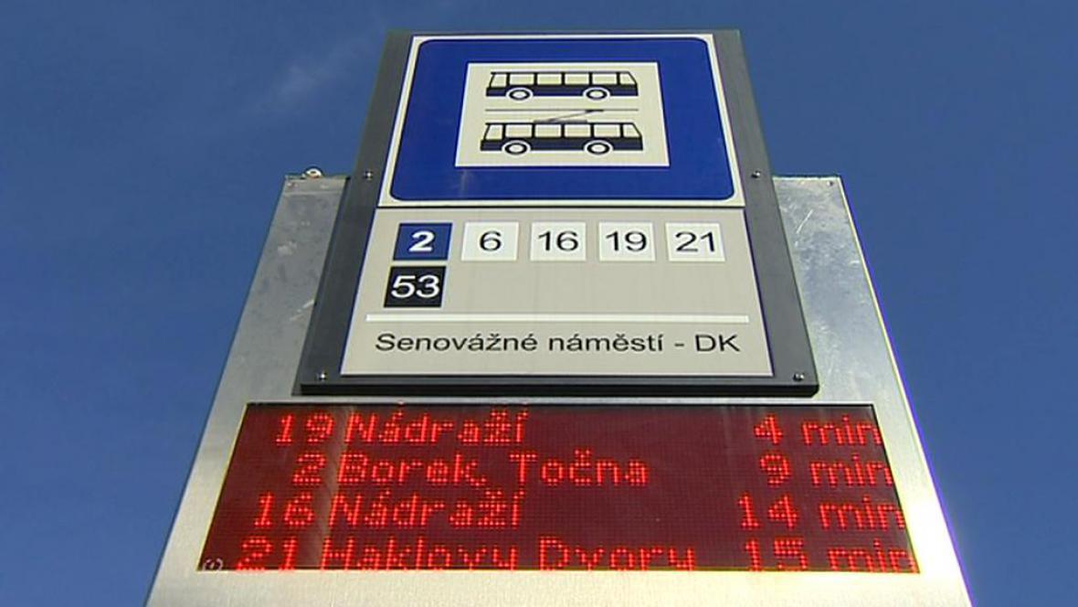 MHD v Českých Budějovicích