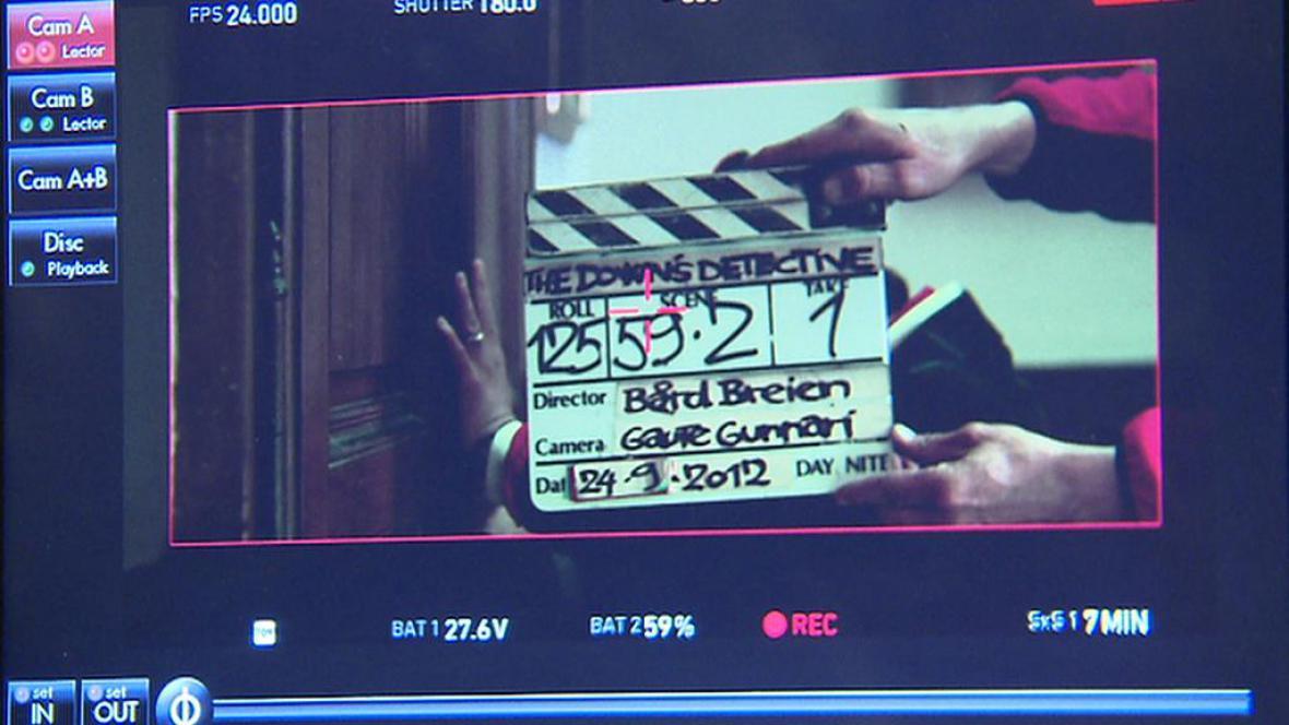 Natáčení Detektiva Downa