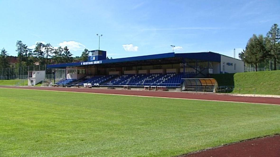Stadion v Domažlicích