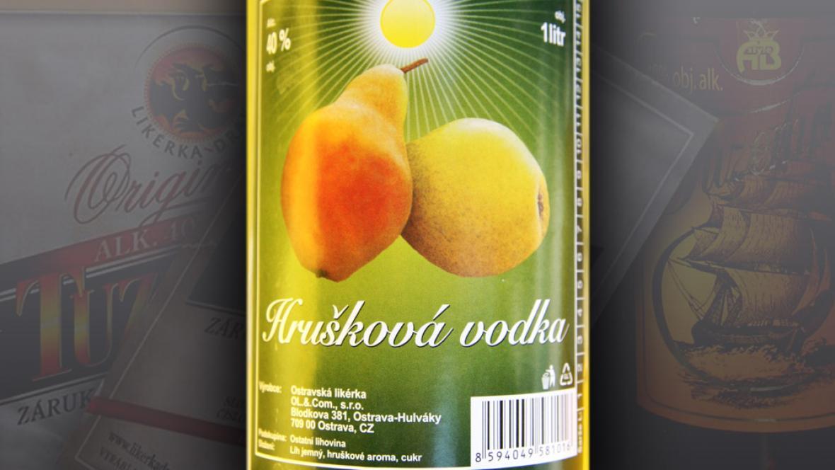 Hrušková vodka
