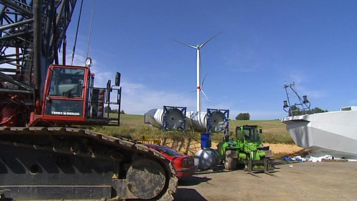 Výstavba větrníků
