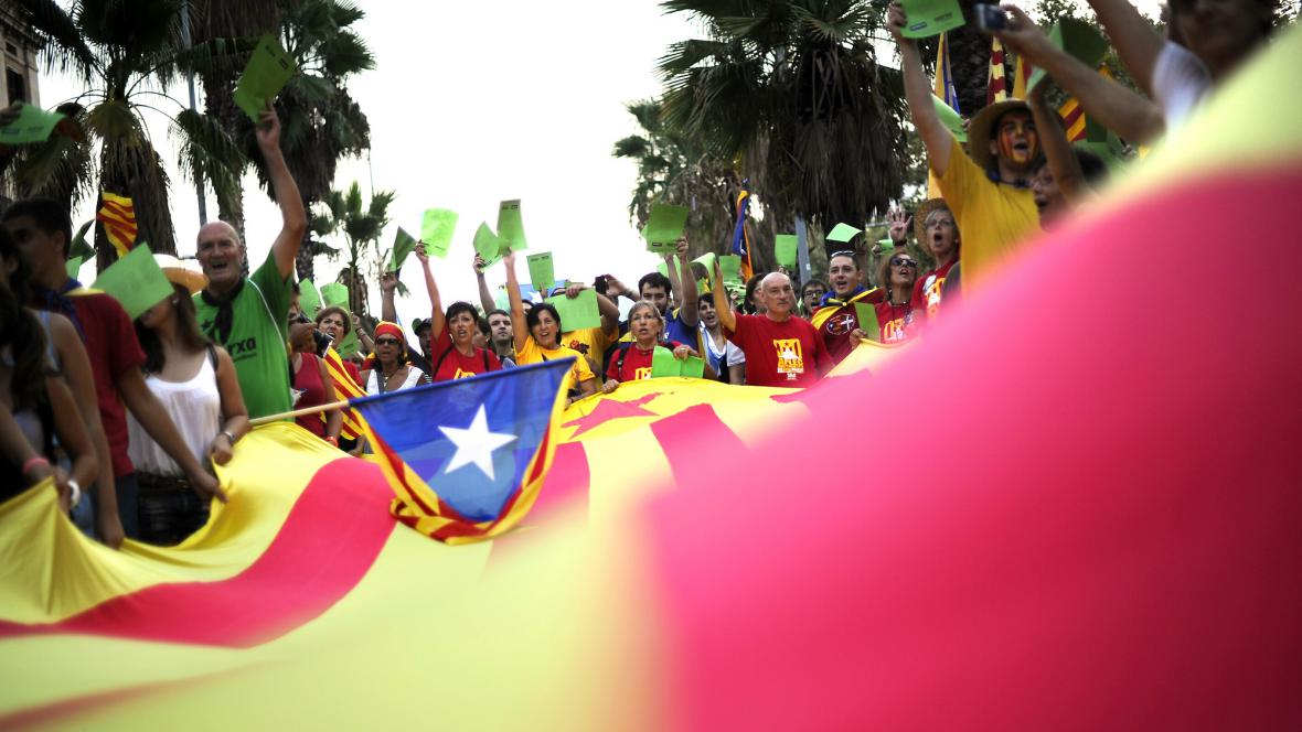 Pochod za nezávislost Katalánska