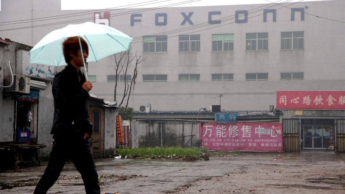 Továrna společnosti Foxconn