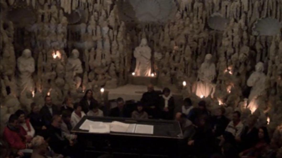 Koncert v Krápníkové kapli na Svaté Hoře