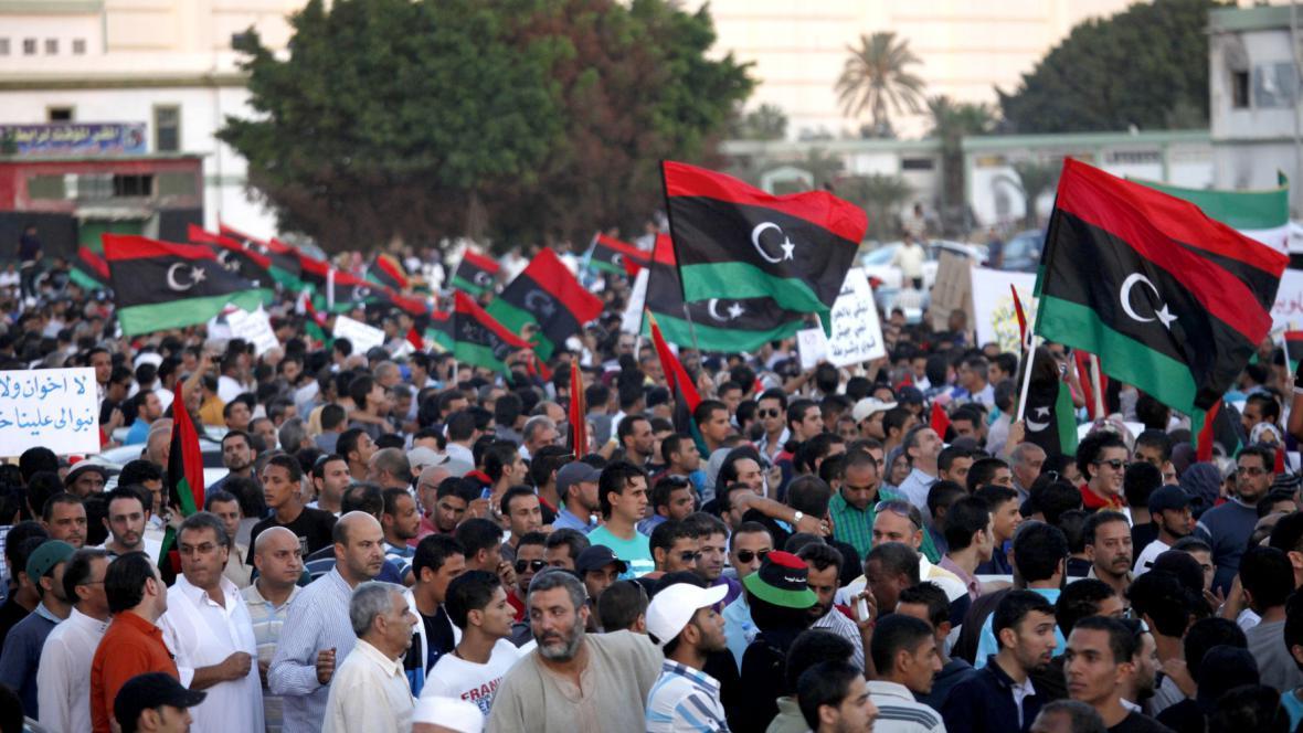 Protesty v Libyi