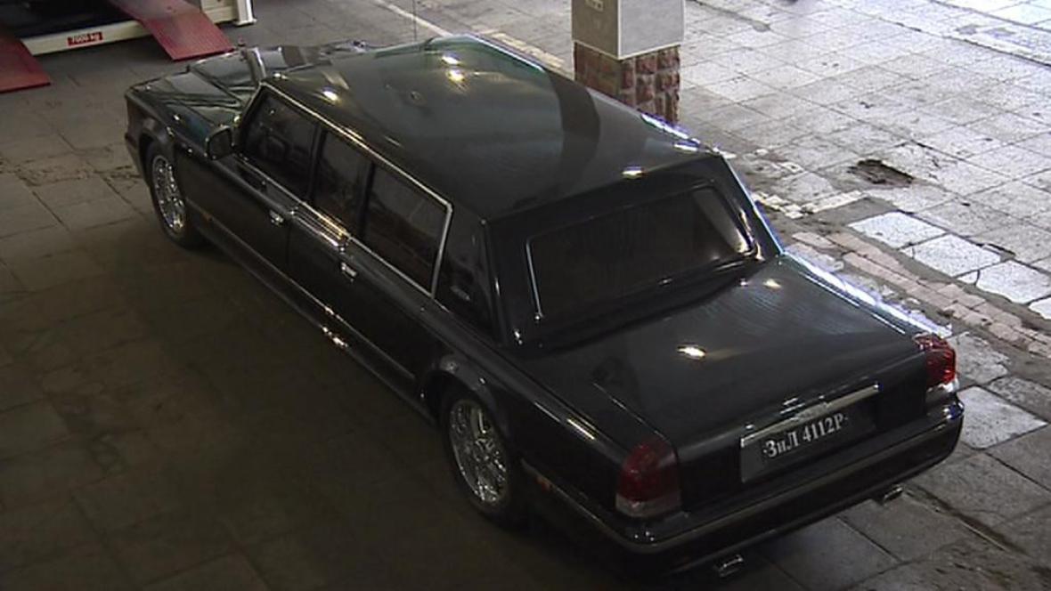 Ruský automobil značky ZIL