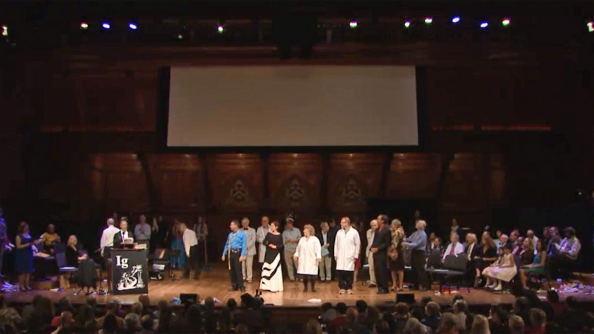 Udílení žertovných cen Ig Nobel