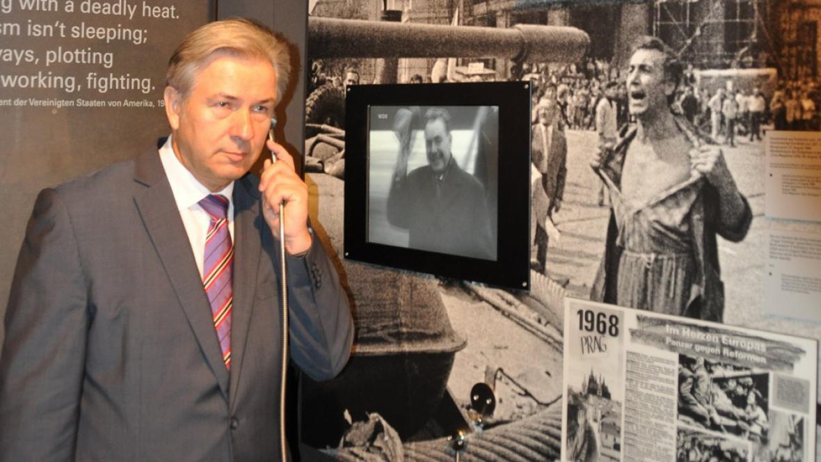 Černá skříňka studené války v Berlíně