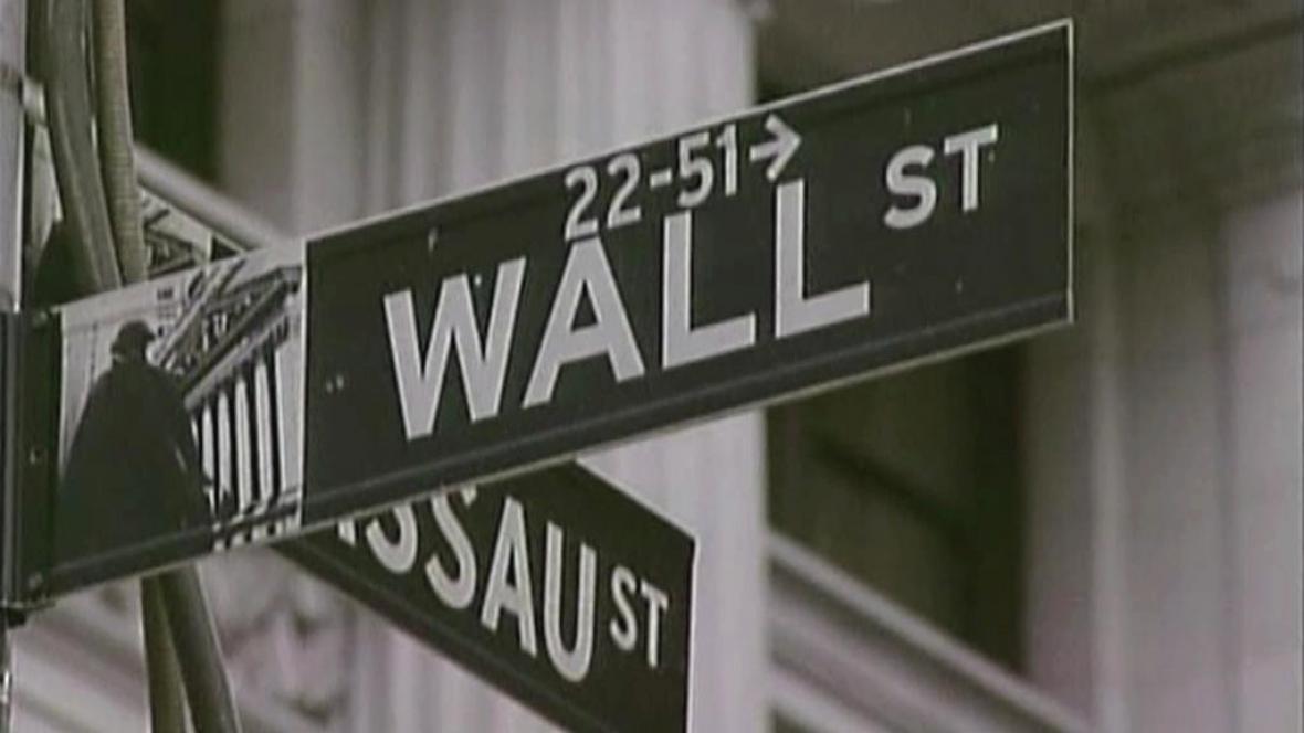 Burzovní ulice Wall Street