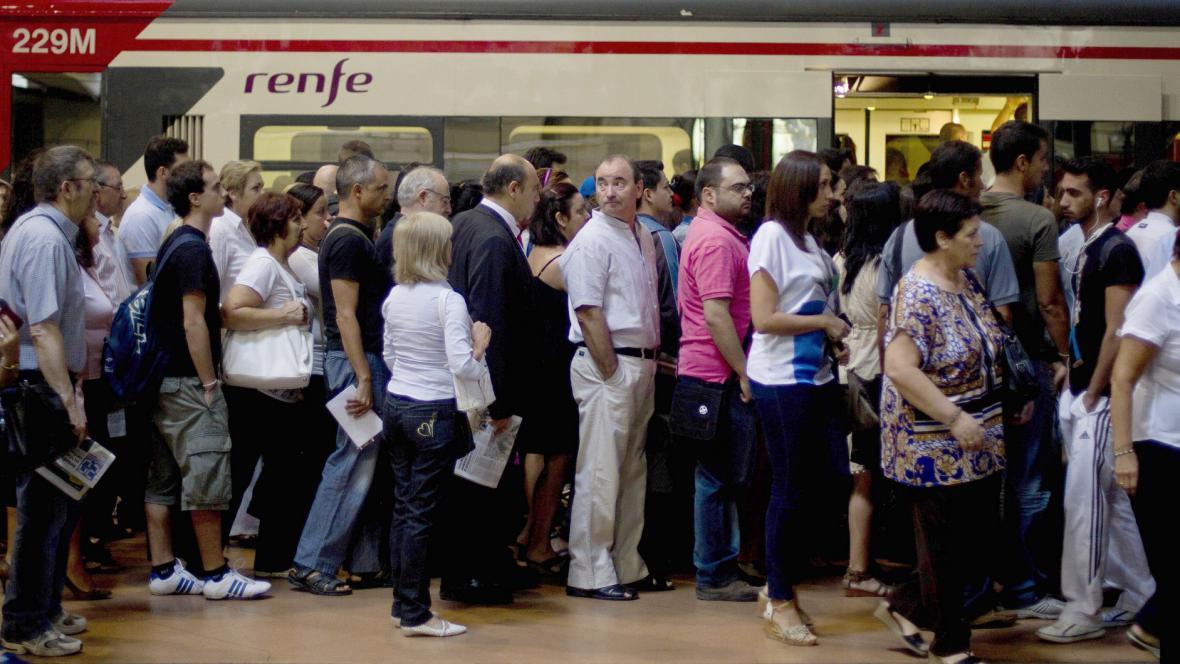 Španělsko: Stávka v dopravě