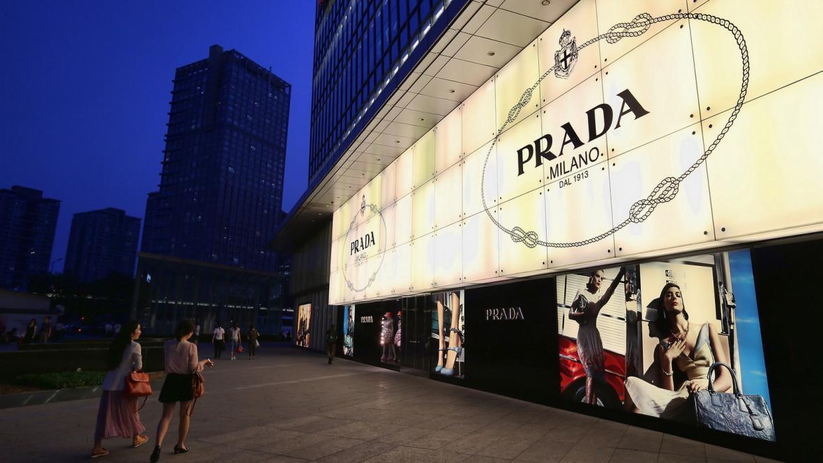 Luxusní obchody v Pekingu